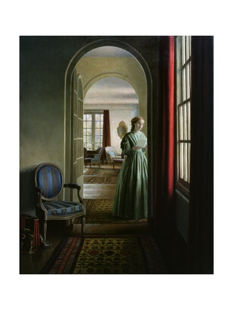 The Letter, 1942 Giclee Print by Leonard Campbell Taylor