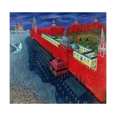 Red Square, 1988 Giclee Print by Tamas Galambos