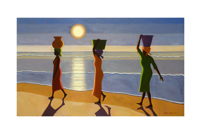 By the Beach, 2007 Giclee Print by Tilly Willis
