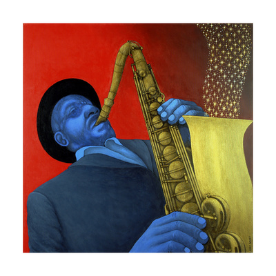 Ben Webster (1909-73) Giclee Print by Larry Smart