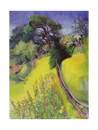 Midsummer Giclee Print by Claire Spencer