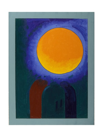 Two Musk-Rats under the Moon, 2008 Giclee Print by Jan Groneberg