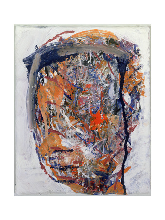 Head of a Woman, 1992 Giclee Print by Stephen Finer
