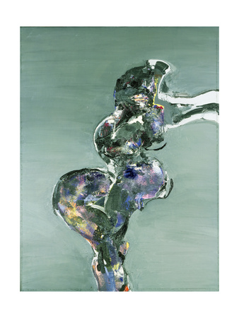 Seated Nude, 1979 Giclee Print by Stephen Finer