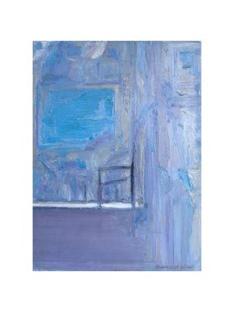 Blue Interior, 1998 Giclee Print by Pamela Scott Wilkie