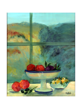 Interior with Window and Bowl Giclee Print by Marisa Leon