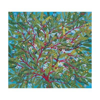 World Tree, 1995 Giclee Print by Tamas Galambos