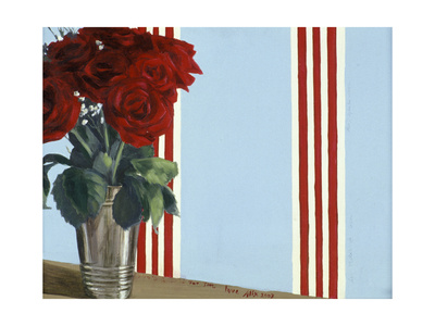 Red Red Roses Giclee Print by Alix Soubiran-Hall