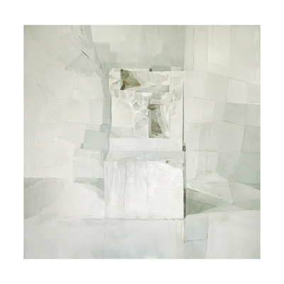 White Giclee Print by Daniel Cacouault