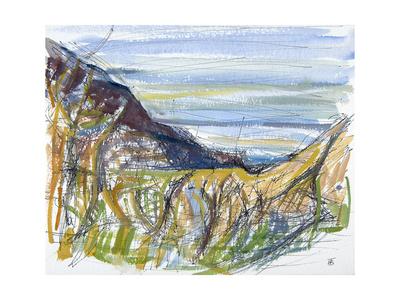 Towards Marsland Mouth, North Devon Giclee Print by Erin Townsend