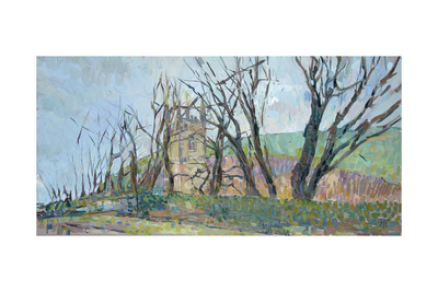 Reverend Hawker's Church at Morwenstow II Giclee Print by Erin Townsend