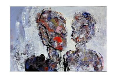 Patrick Garland and Alexandra Bastedo, 1998 Giclee Print by Stephen Finer