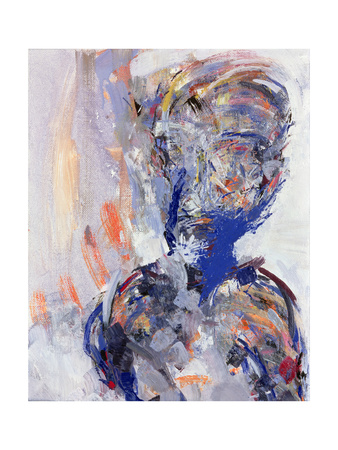 David Bowie, Right Hand Panel of Diptych, 2000 Giclee Print by Stephen Finer
