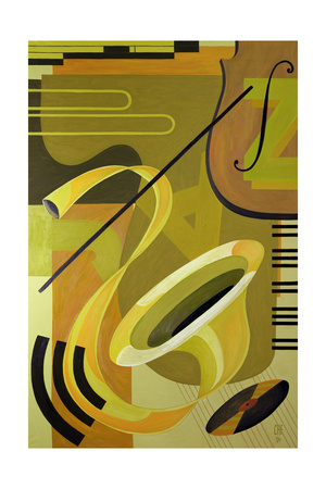 Jazz, 2004 Giclee Print by Carolyn Hubbard-Ford