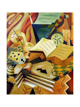 The Reading Corner, 1999 Giclee Print by Carolyn Hubbard-Ford
