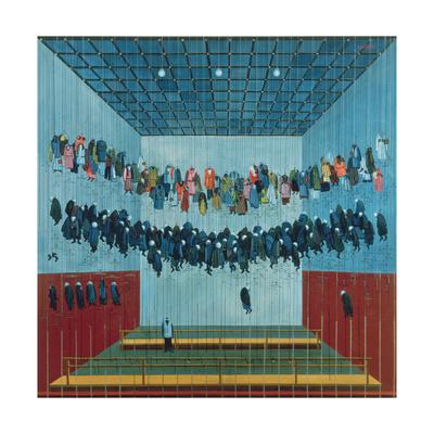 Miner's Dressing Room, 1982 Giclee Print by Tamas Galambos