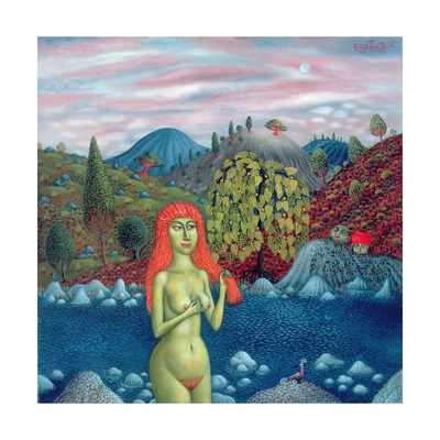 Susanna and the Elders, 1996 Giclee Print by Tamas Galambos
