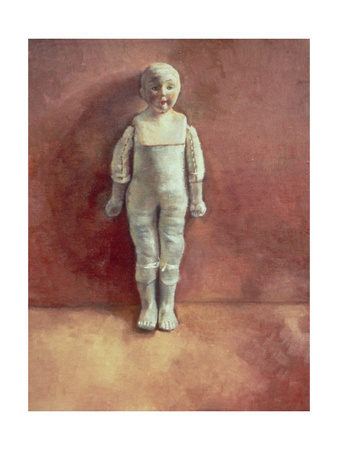 Panel from the Triptych 'Doll Study', 2000 Giclee Print by Victoria Russell