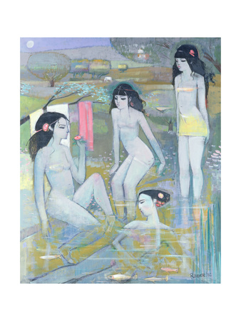 Indian Summer, 1992 Giclee Print by Endre Roder