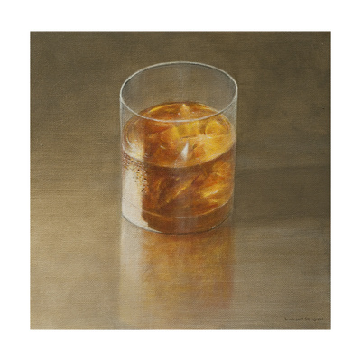Glass of Whisky, 2010 Giclee Print by Lincoln Seligman