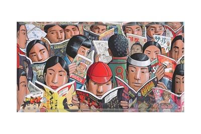 Manga, 2005 Giclee Print by P.J. Crook