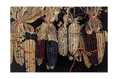 Old Maize Cobs, 2004 Giclee Print by Pedro Diego Alvarado