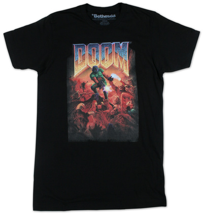 Doom - Cover T-Shirt