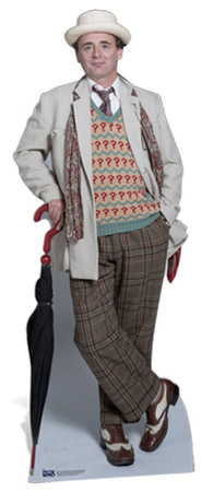 Sylvester McCoy - Doctor Who Lifesize Standup Cardboard Cutouts