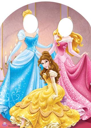 Disney Princess Stand-In Lifesize Standup Figura de cartón