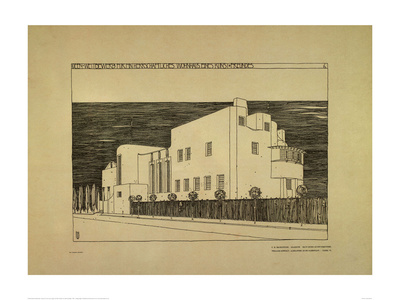 House for an Art Lover p6 Giclee Print by Charles Rennie Mackintosh