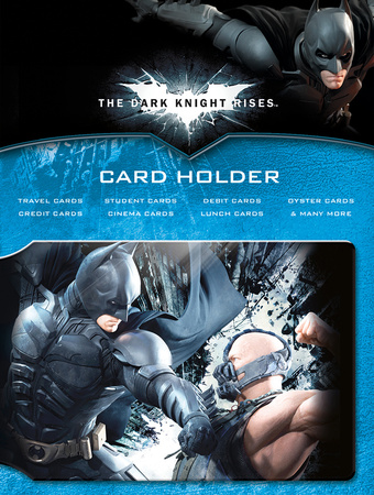 Batman Tdkr Battle Card Holder Aparte producten