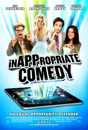 InAPPropiate Comedy Movie Poster Masterprint