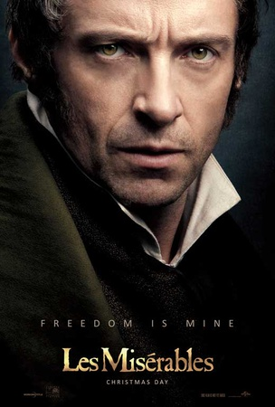 Les Miserables, Hugh Jackman Masterprint