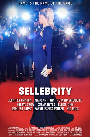 Sellebrity (Jennifer Aniston, Jennifer Lopez, Sarah Jessica Parker) Movie Poster Masterprint