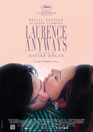 Laurence Anyways Movie Poster マスタープリント