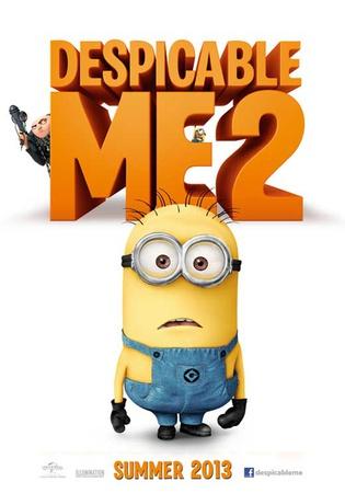 Despicable Me 2 Movie Poster Masterprint