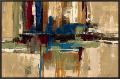 Eucalyptus Bark Framed Canvas Print by Silvia Vassileva