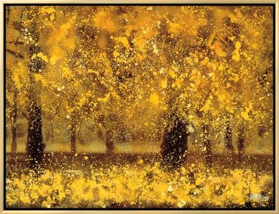 Golden Age Framed Canvas Print by Pihua Hsu