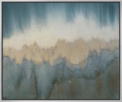Rhythm of Light Framed Canvas Print by Yunlan He
