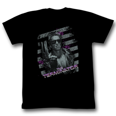 Terminator - Purple T-shirts