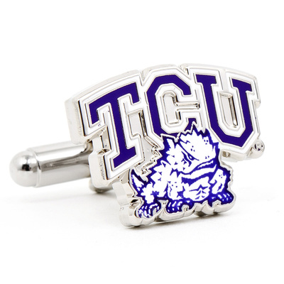 TCU Horned Frog Cufflinks Novelty