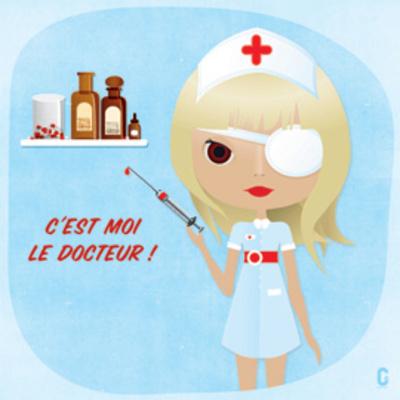 Nenette Docteur Prints by  Nolf