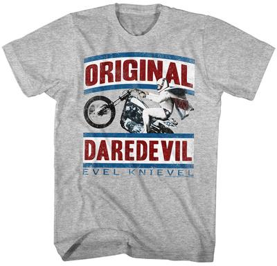 Evel Knievel - Daredevil Magliette