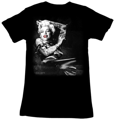 Juniors: Marilyn Monroe - Smoker T-Shirt