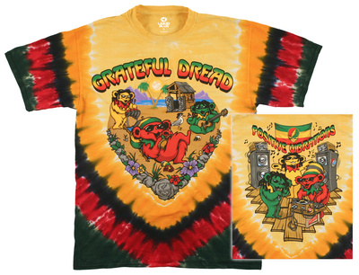 Grateful Dead - Positive Vibrations T-shirts