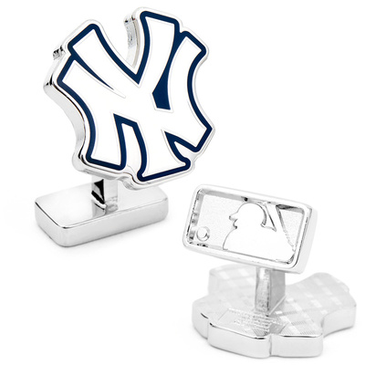Palladium New York Yankees Cufflinks Novelty