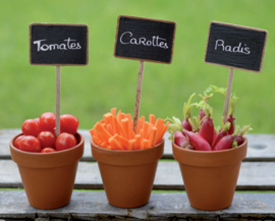 Potager Prints by  Chatelain