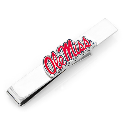 Ole Miss University Rebels Tie Bar Novelty