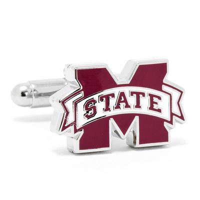 Mississippi State Bulldogs Cufflinks Novelty