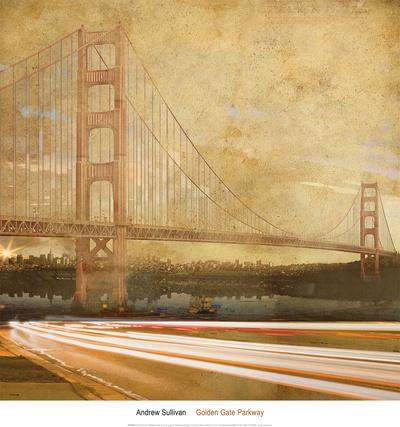 Golden Gate Parkway Prints by Andrew Sullivan